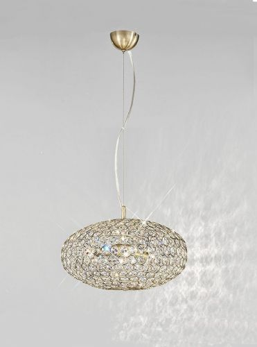Franklite FL2274/3 Bronze Pendant Light